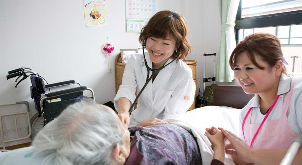 24時間看護師が常勤